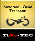 Motorrad Quad Transport TiGo - TEC Ltd. & Co. KG