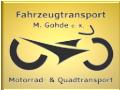 Rollertransport ab 75,- EUR durch Deutschland